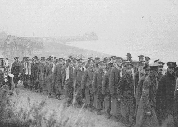 Folkestone Soliders during WW1