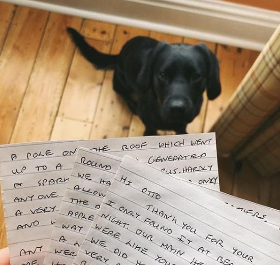 Otto Letters Dog Friendly Folkestone