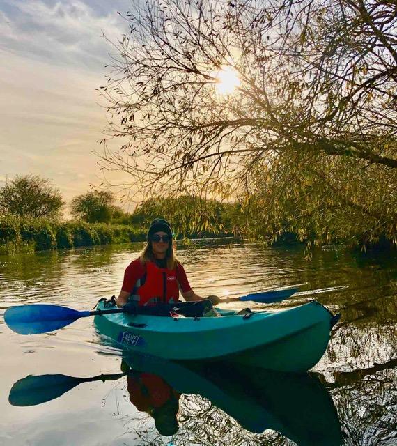 Hannah Revill Canal Kayaking