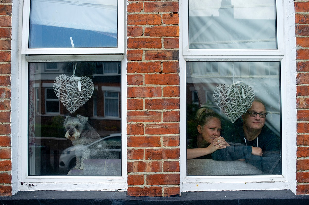 Zak Waters Lockdown Portraits Folkestone
