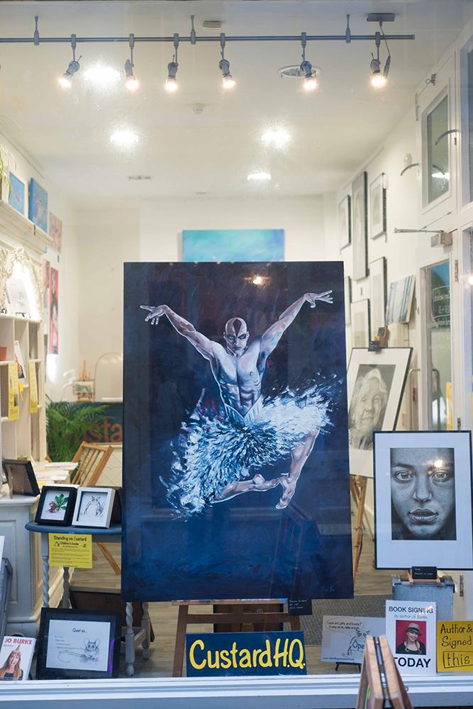 Matthew Bourne Dancer Phil Price Custard HQ