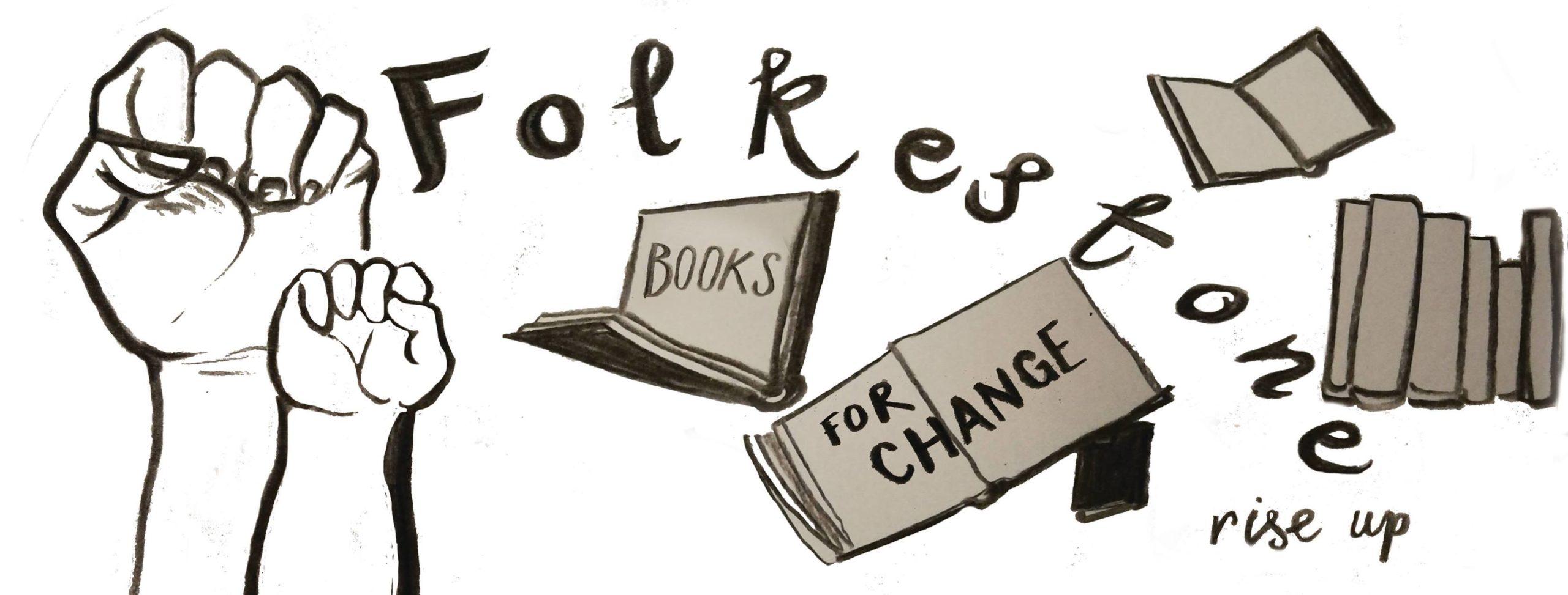 Folkestone Books For Change Black Lives Matter