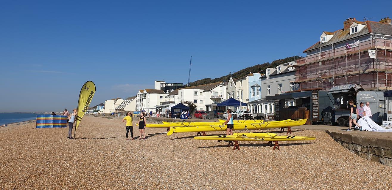 Setting Up Folkestone Rowing Club