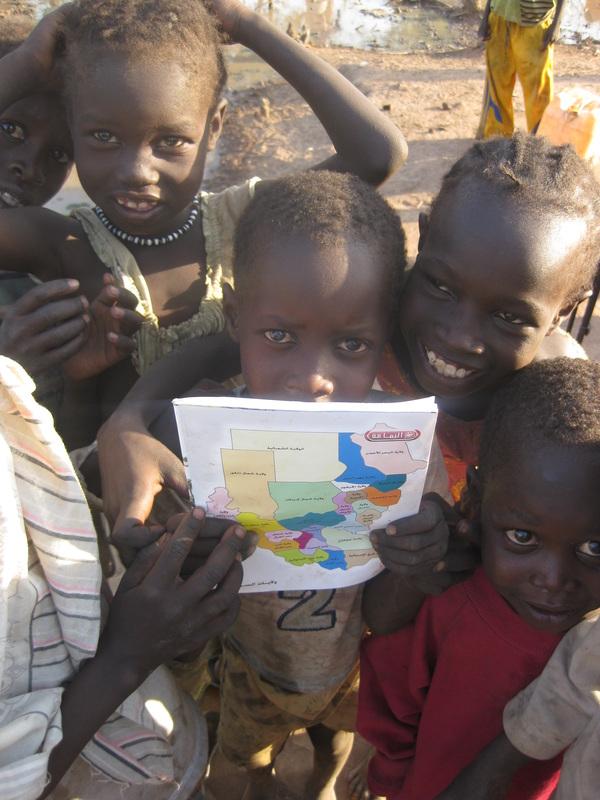 Green Kordofan Children