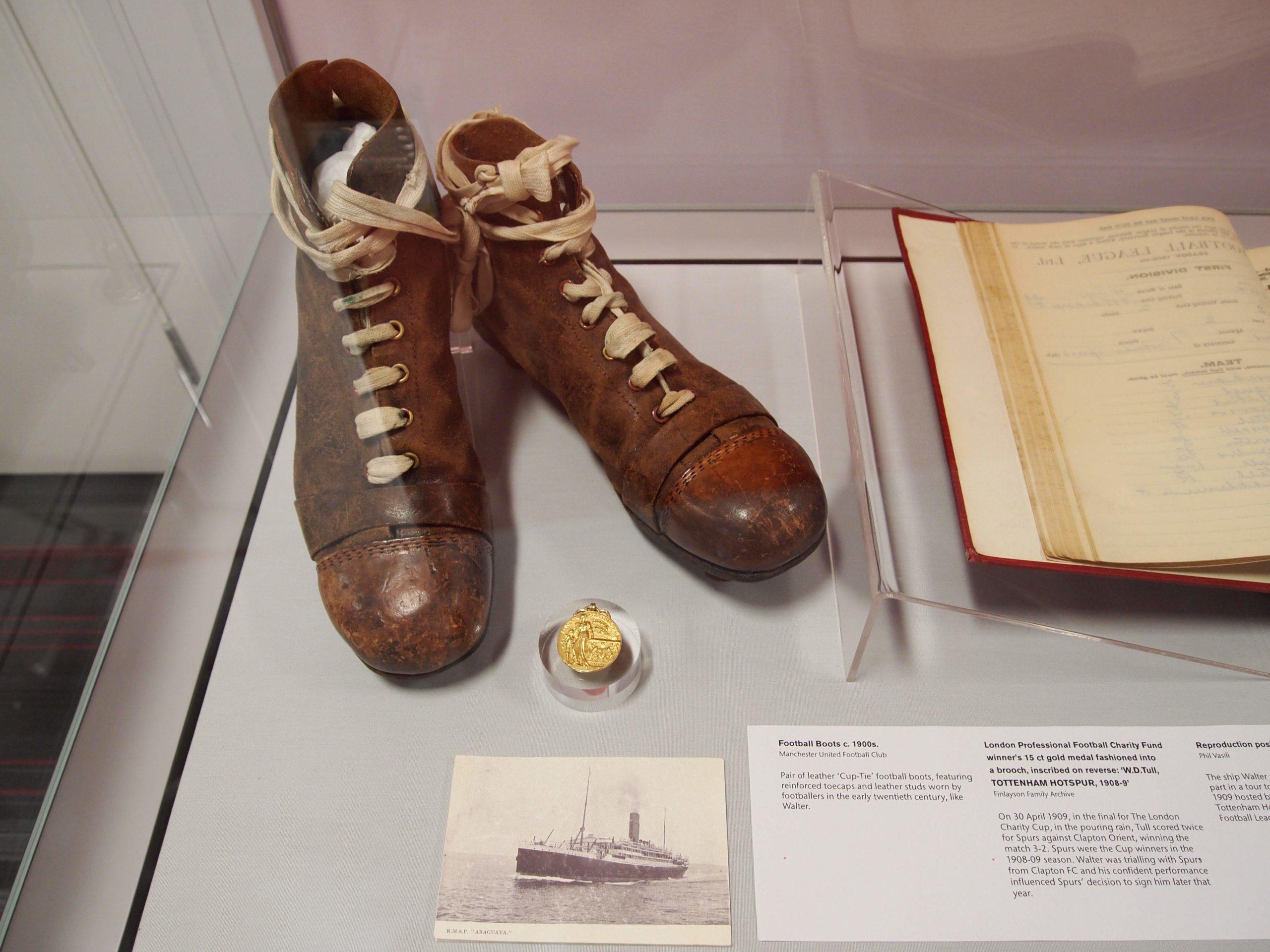 Walter Tull Football Boots