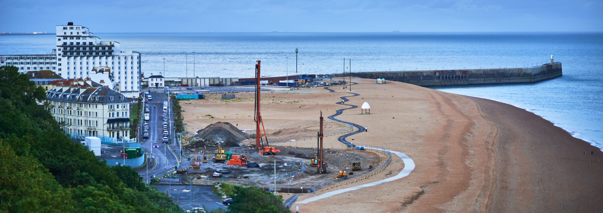 Folkestone Harbour Seafront Development June 2020