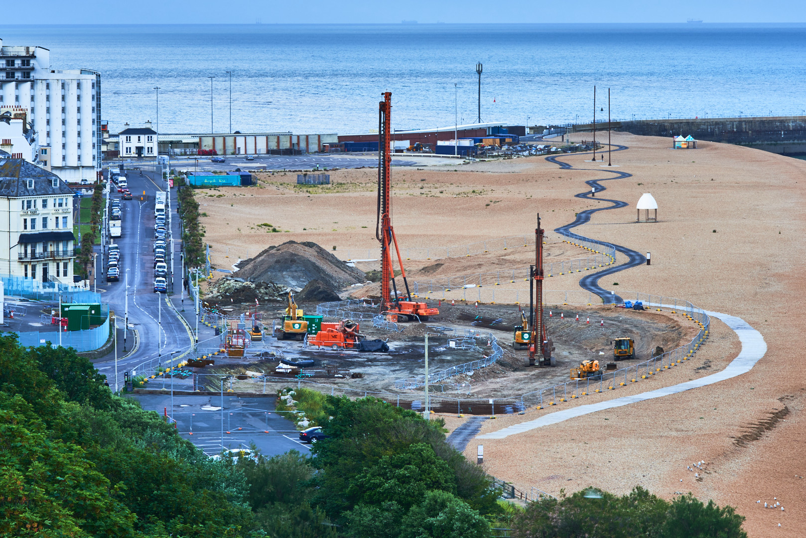Site of Seafront Development June 2020