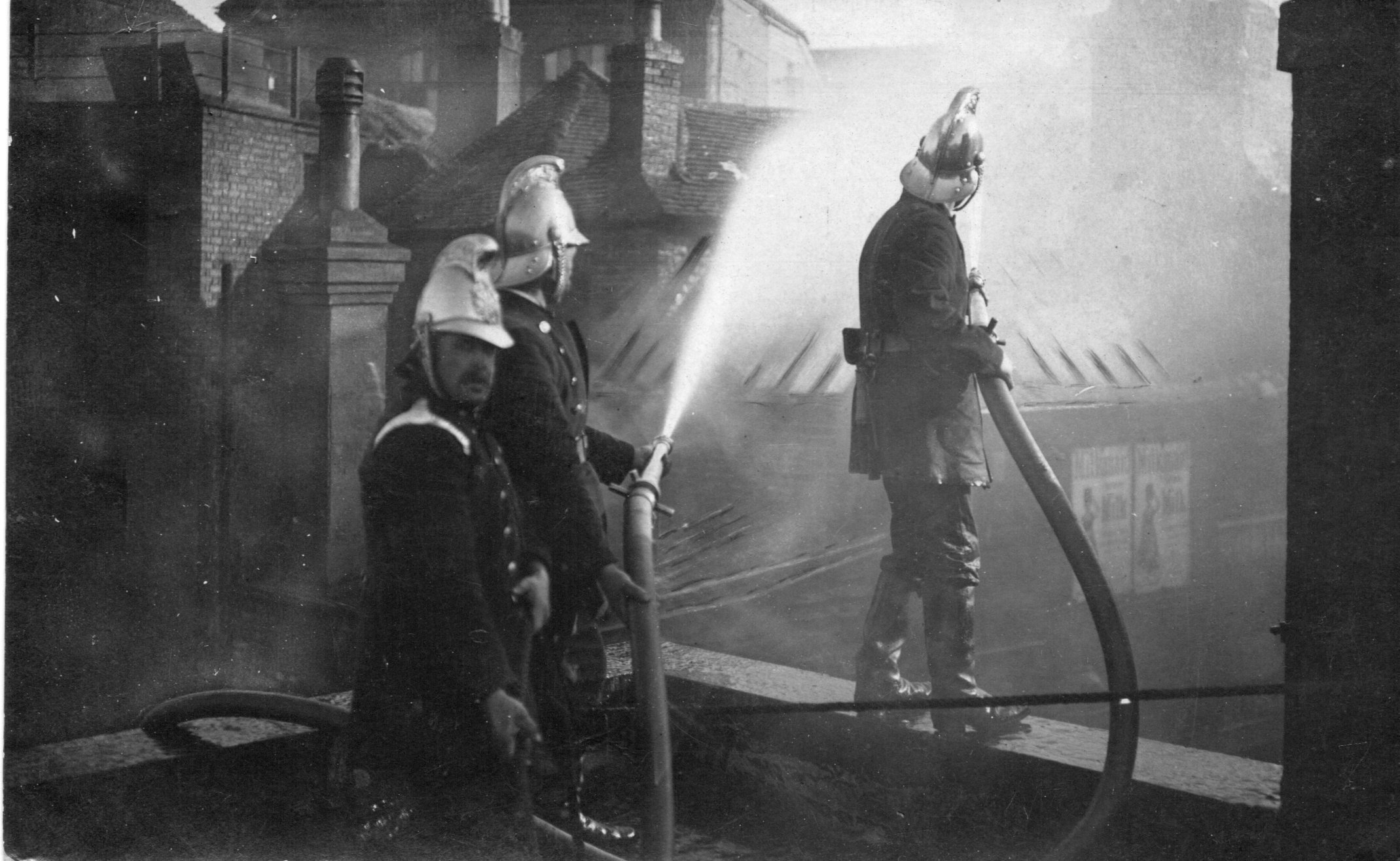 George's House Fire 1909