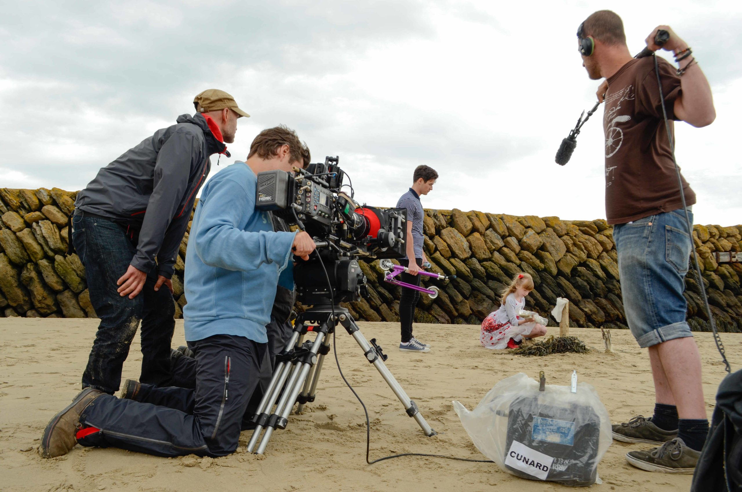 Filming Seagull Peter Blach