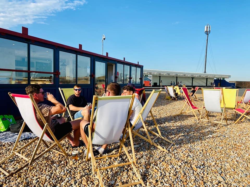 Pilot Beach Bar Chairs