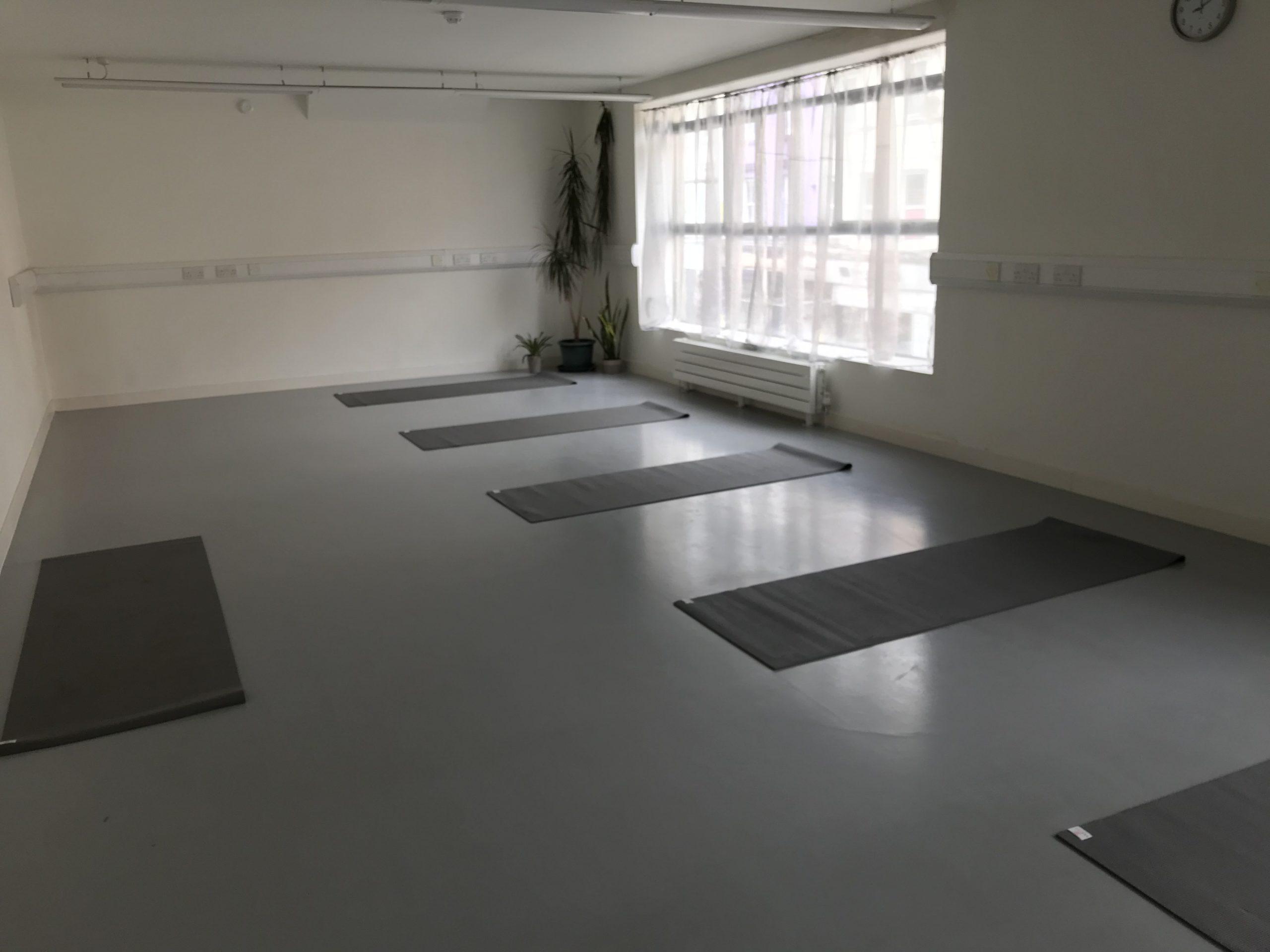 Vibha Yoga Studio Social Distancing
