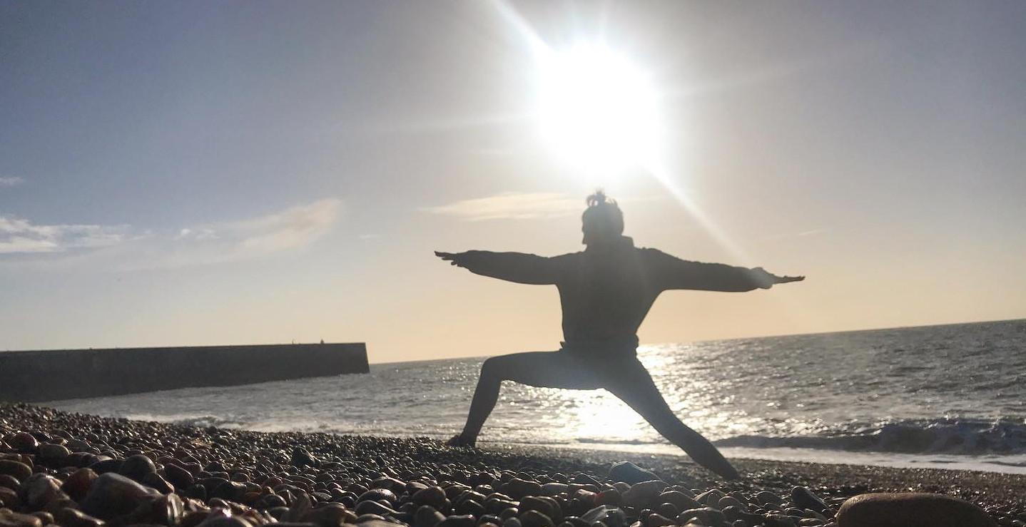 Bee Hart Warrior Yoga In Folkestone
