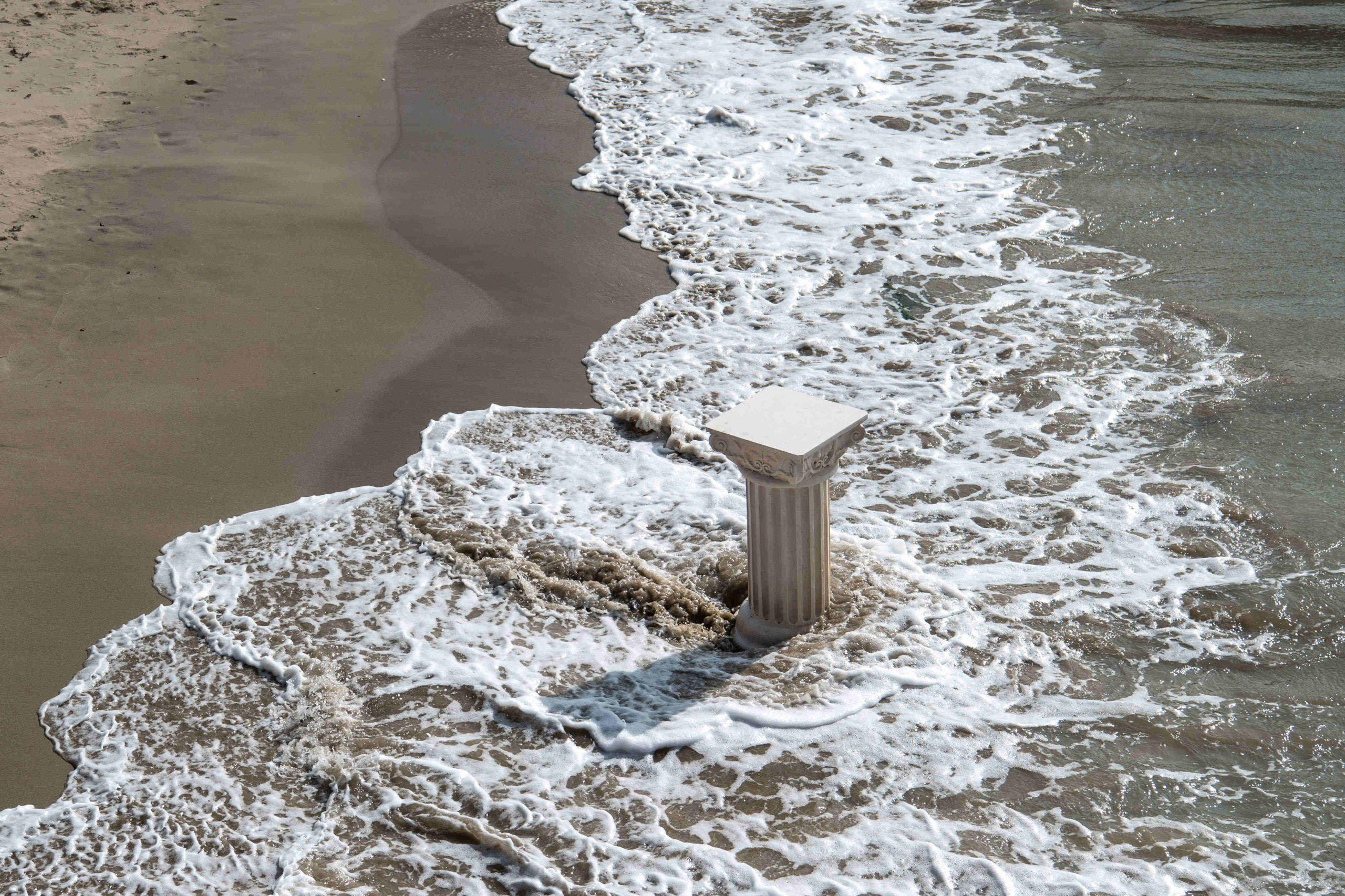 Plinth in the Sea
