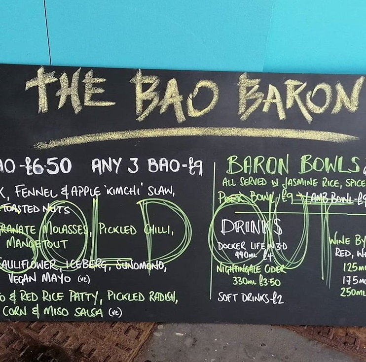 Sold Out Bao Baron