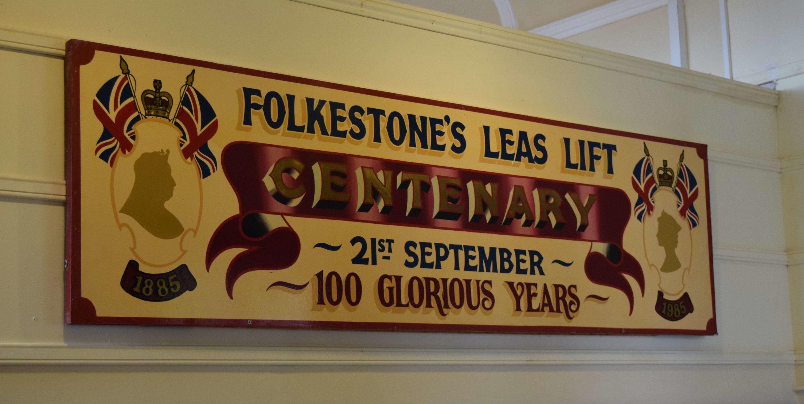 Leas Lift Cafe Centenary