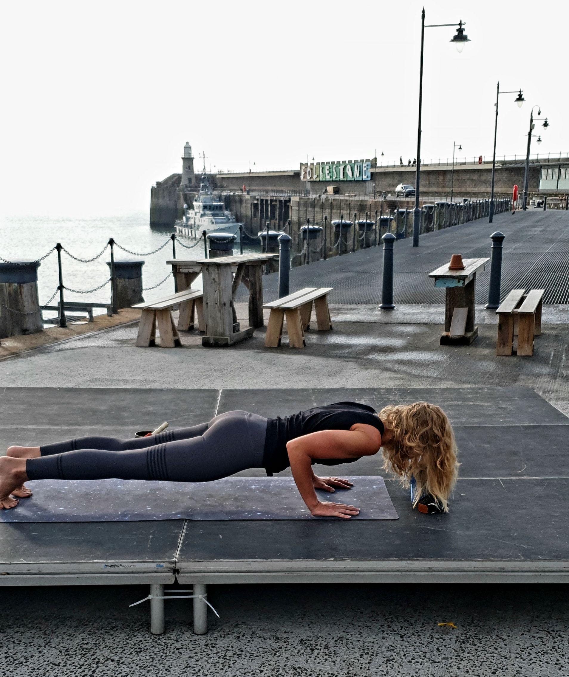 April Welsh Yoga