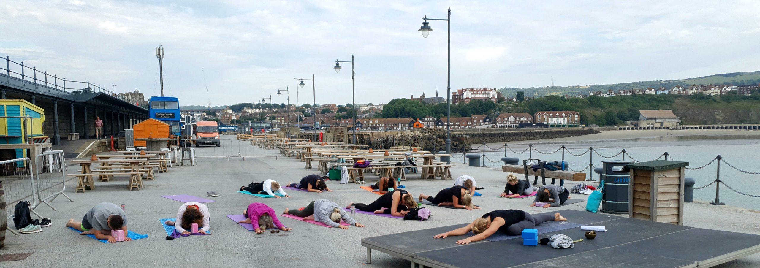 Yoga April Welsh Harbour Arm