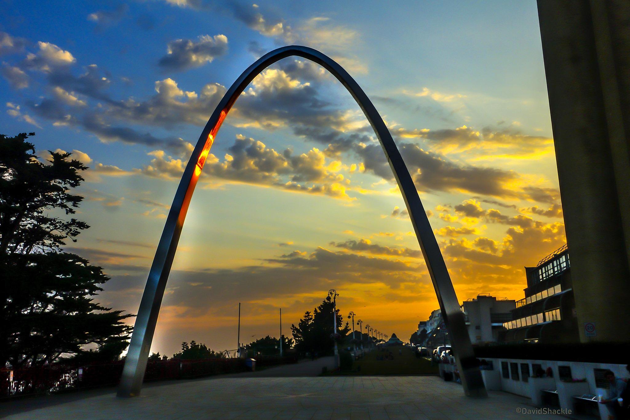 Memorial Arch Credit David Shackle
