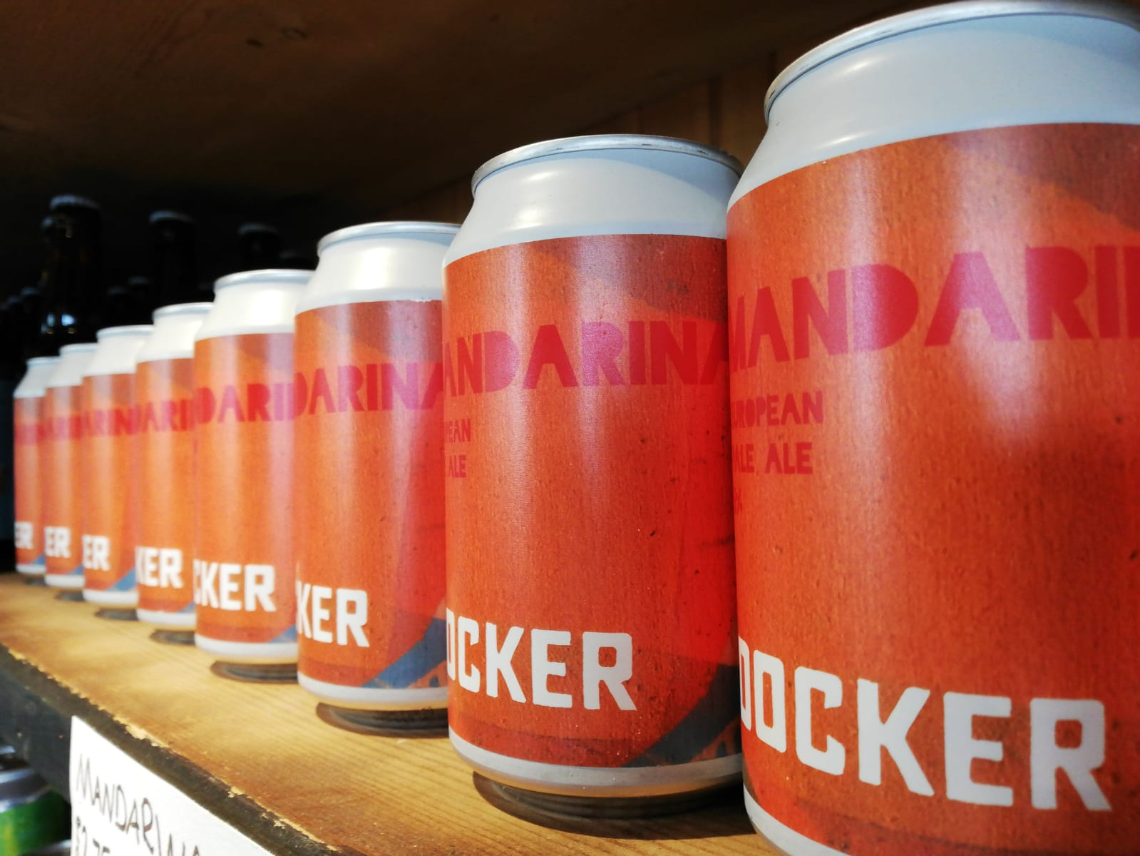 Docker Brewery Cans