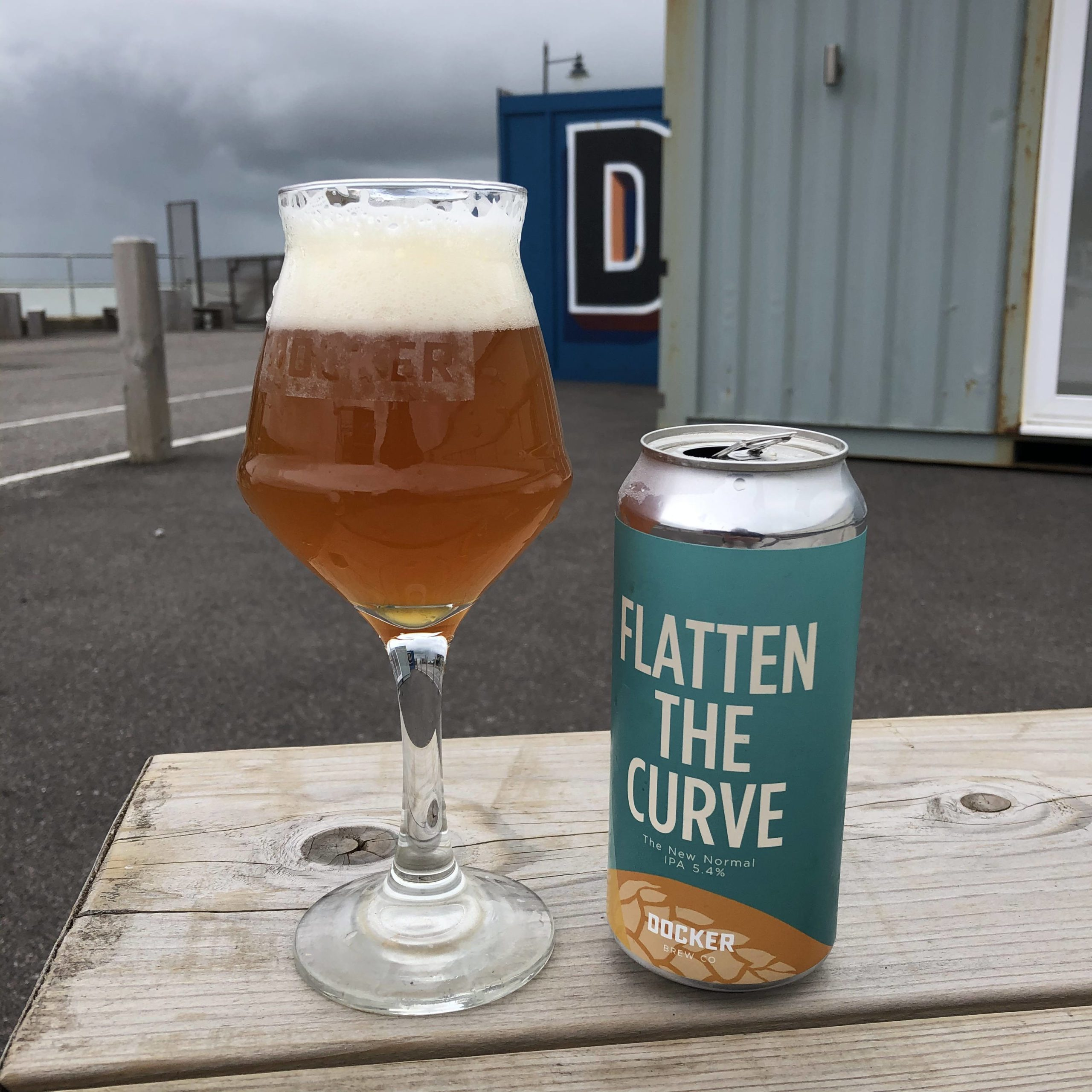 Docker Beer Flatten The Curve