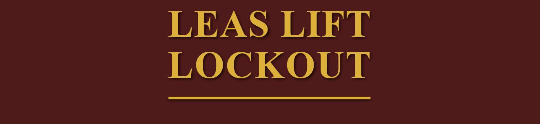 Leas Lift Lockout Logo