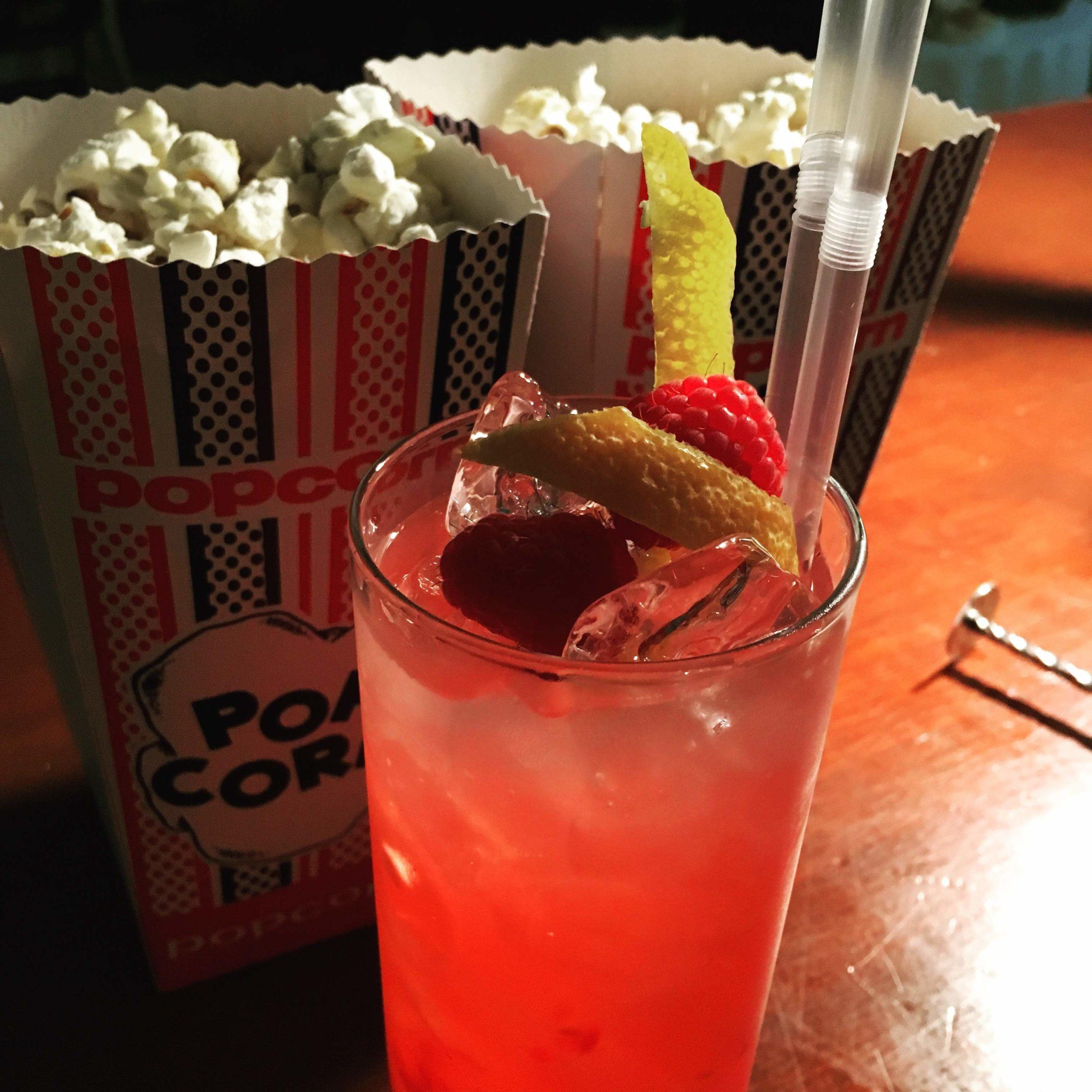 Strawberries and popcorn Bar Folklore