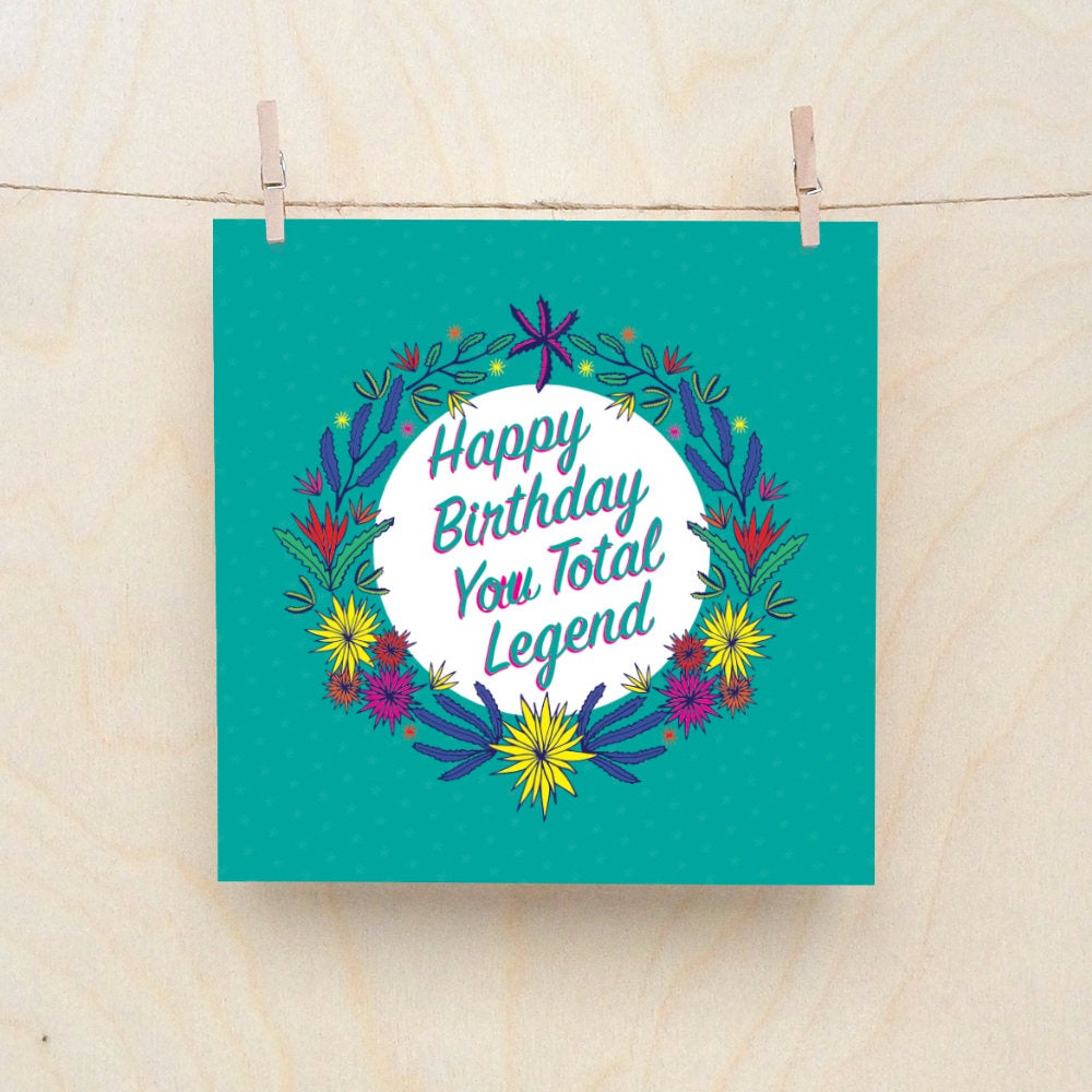 Objectables Birthday cards