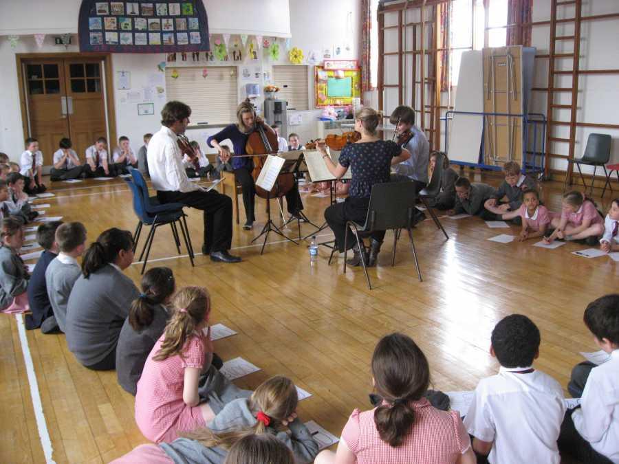 Sacconi Quartet Workshops