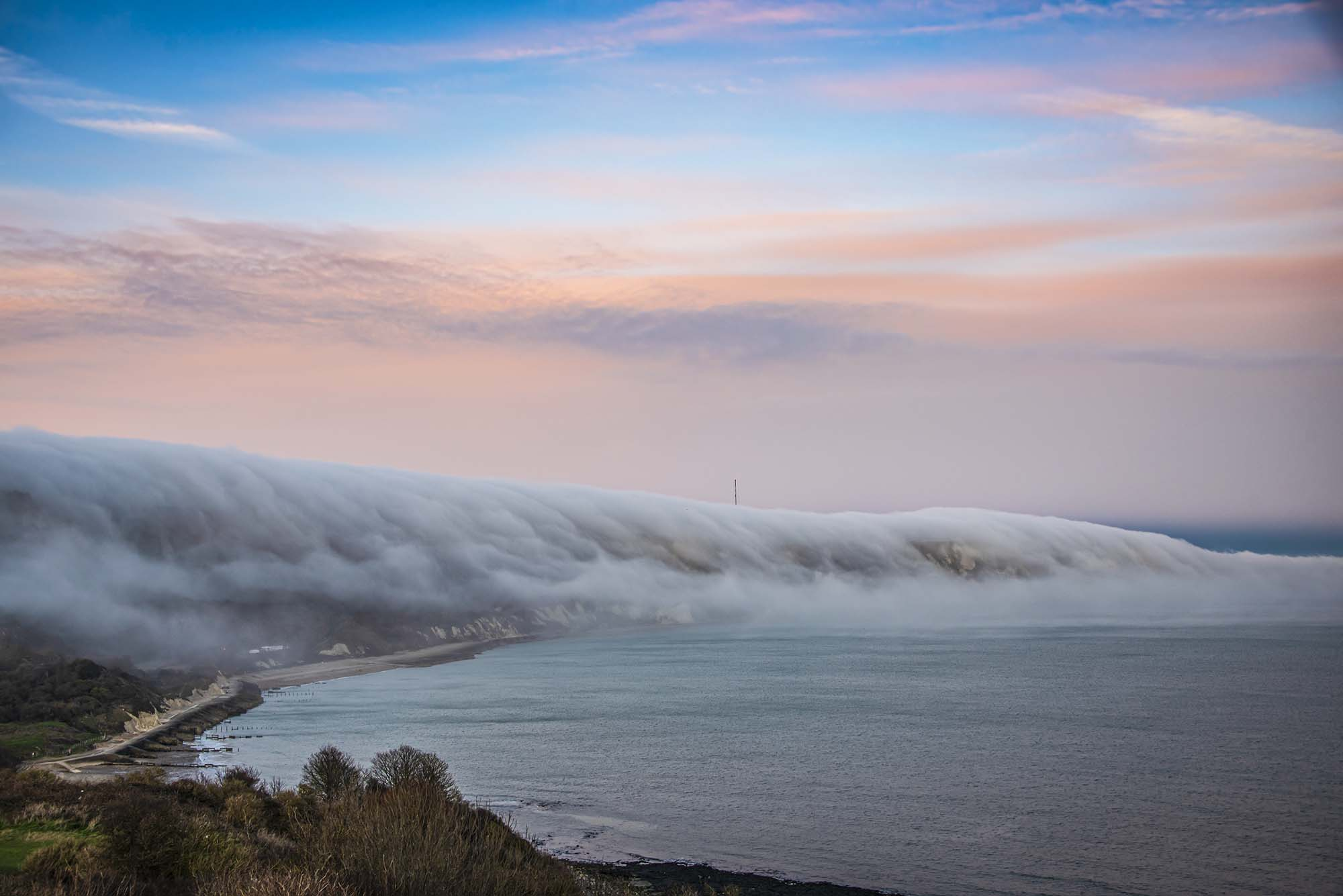 Cliffs in Mist Dirk Seyfried