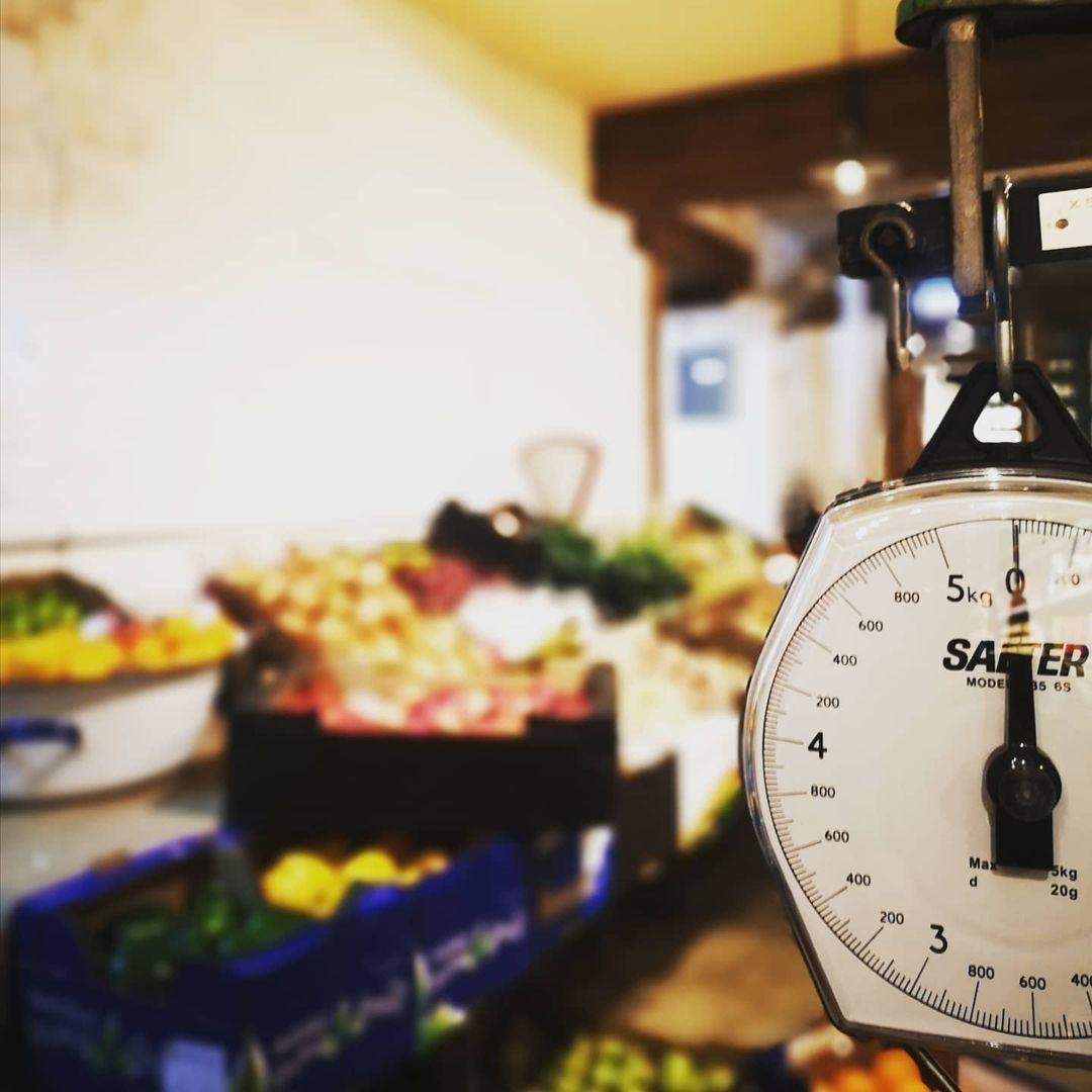 Folkestone Food Market Scales
