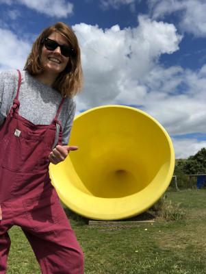 Laura Grantham Yellow Horn