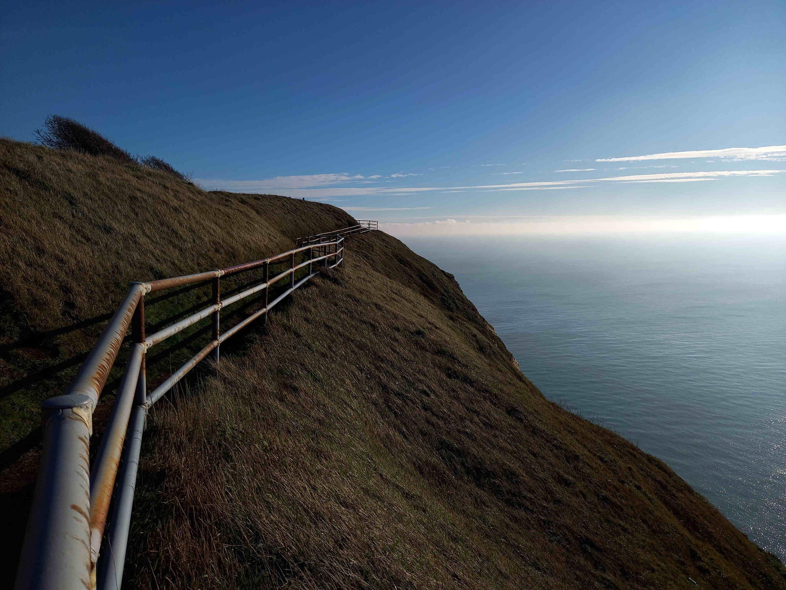 Railings on Coastal Path