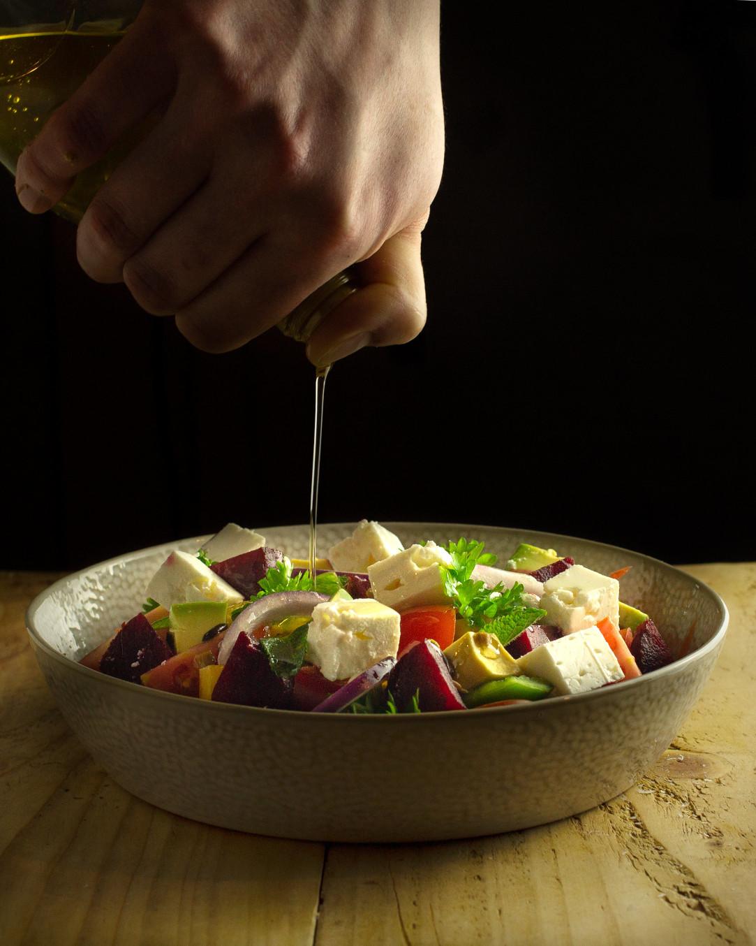 Feta Salad Dinos