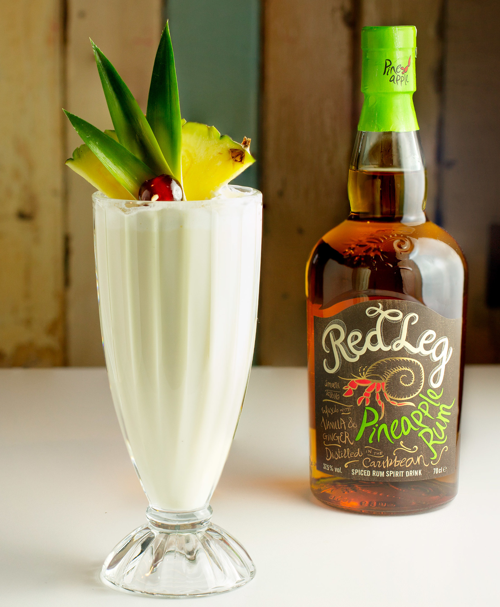 Red Leg Pineapple Rum Milkshake