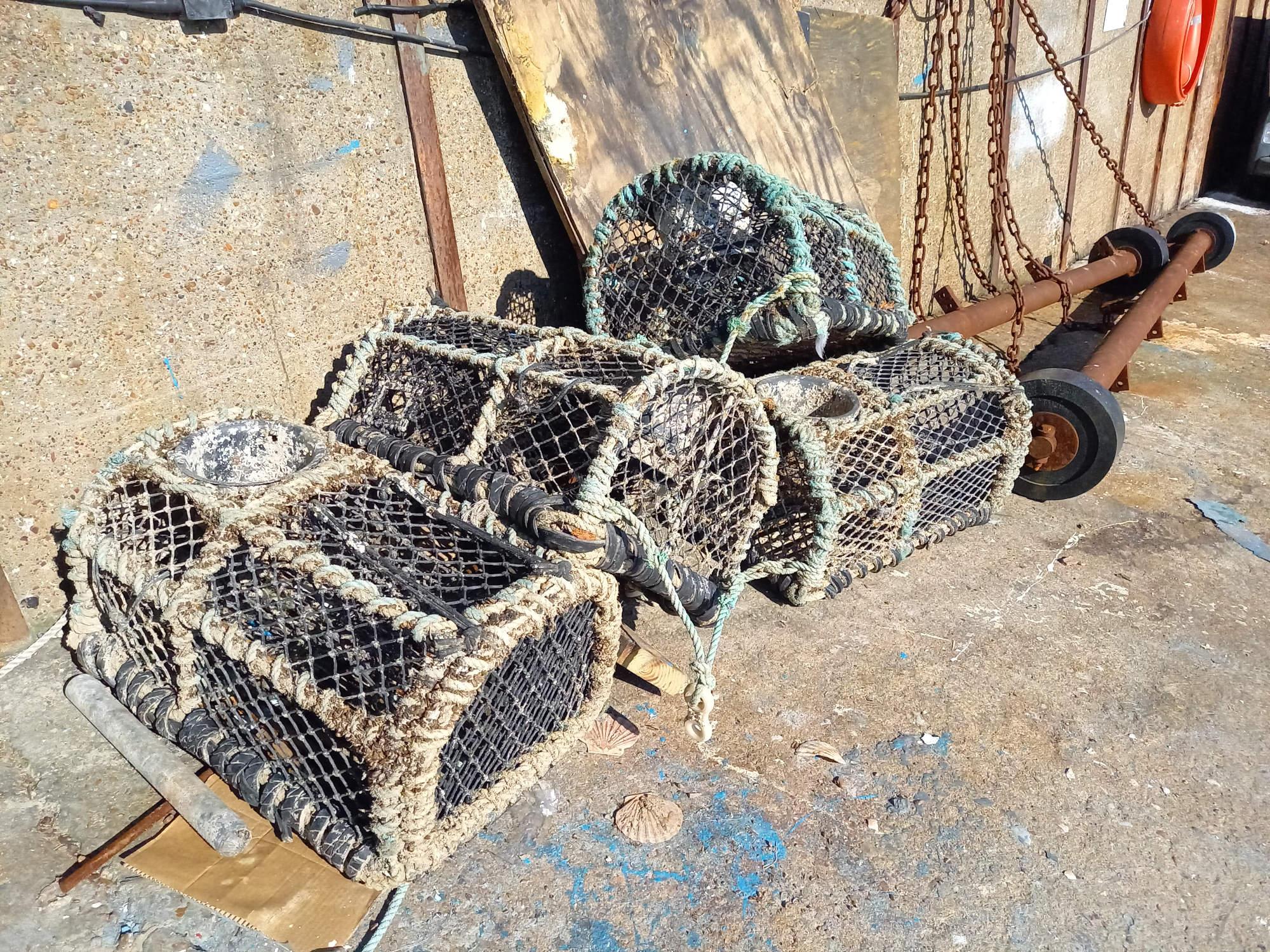 Crab boxes