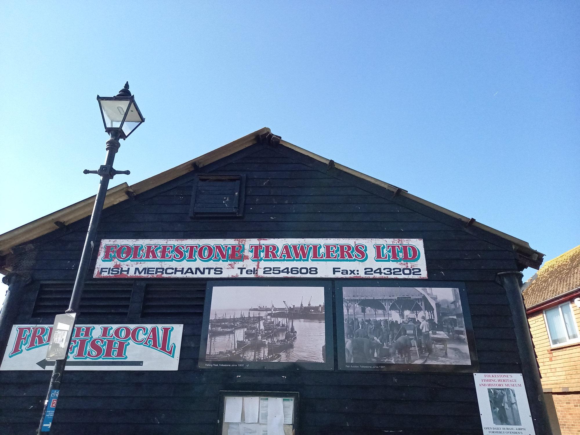 Folkestone Trawlers Back