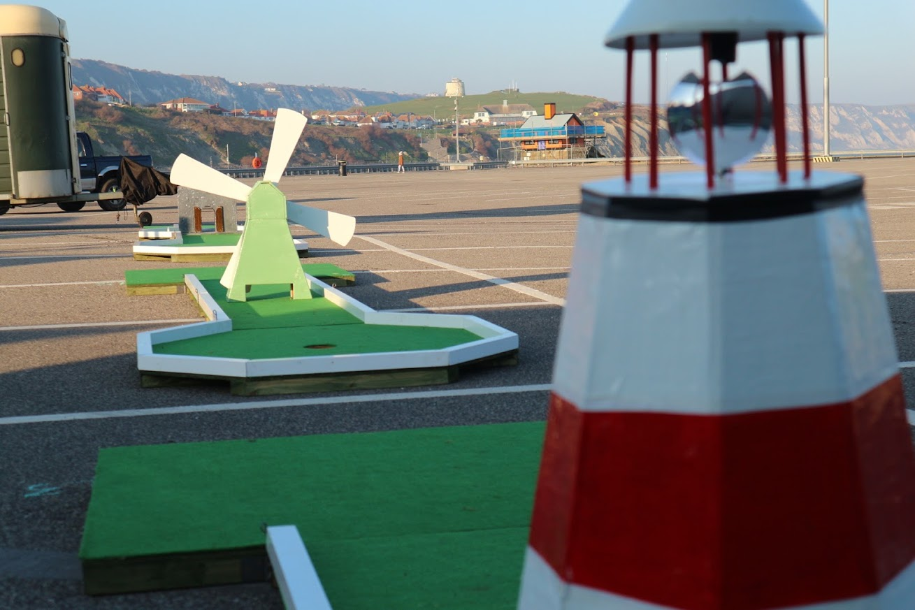 Mini Golf on the Harbour Arm