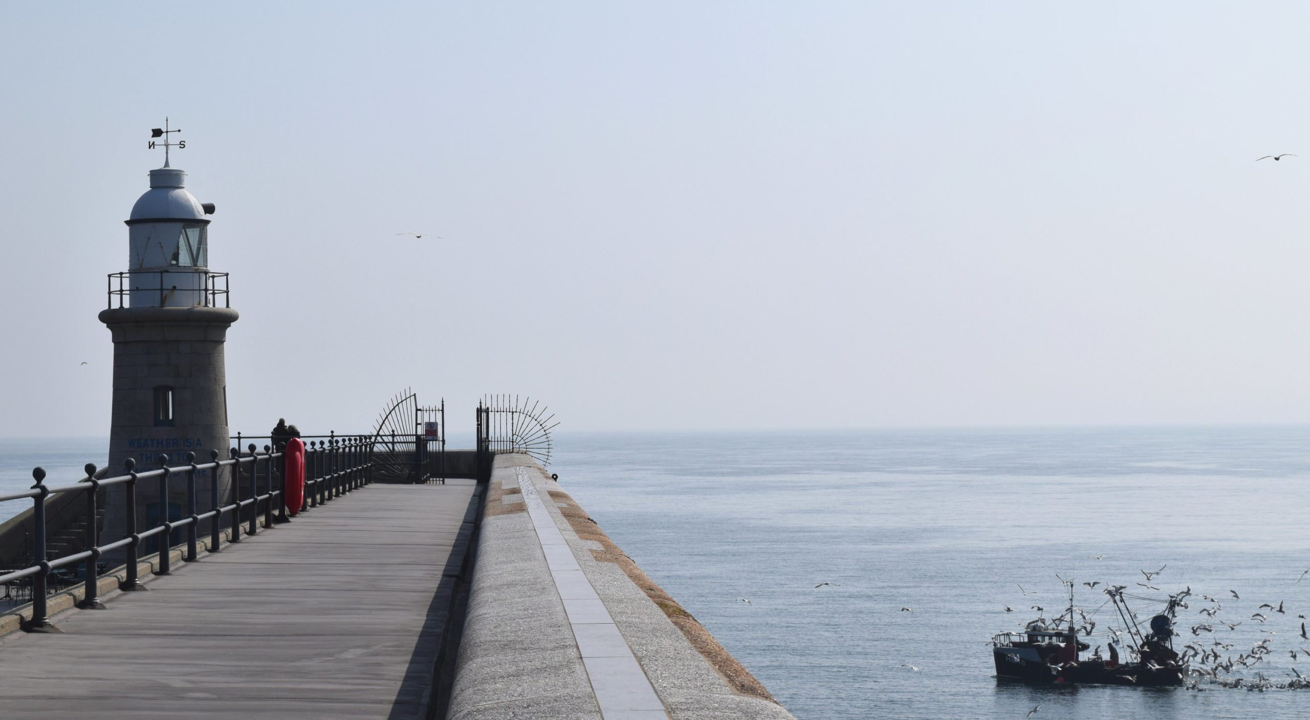 Folkestone Trawlers and Harbour Arm