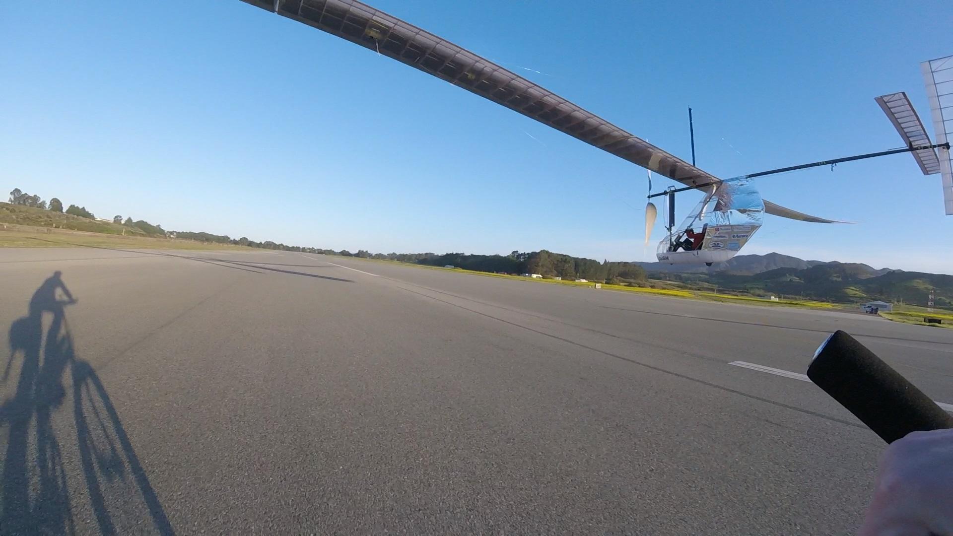 Human Powered Aircraft Dash