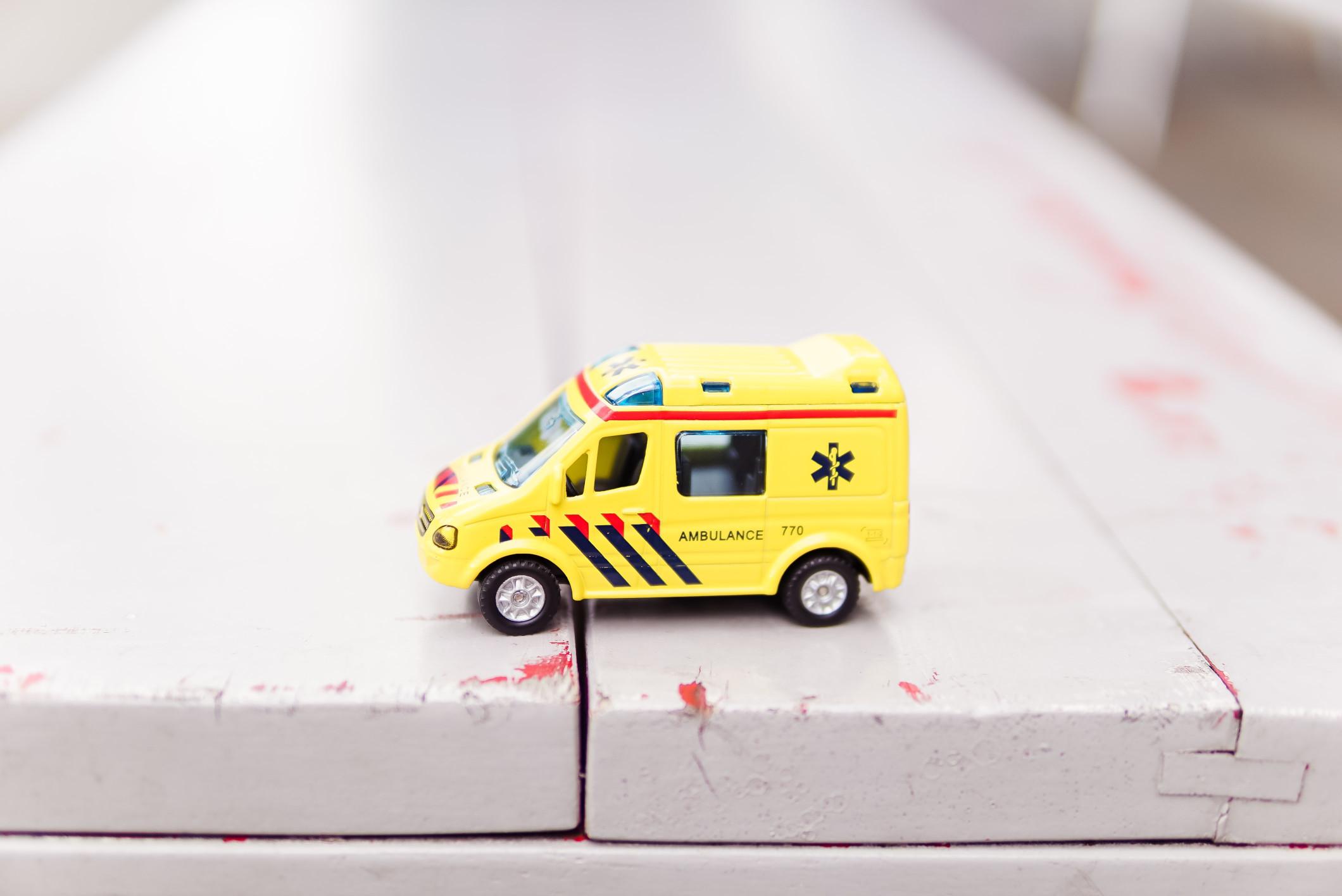 Toy Ambulance Credit Zhen Hu Xruf