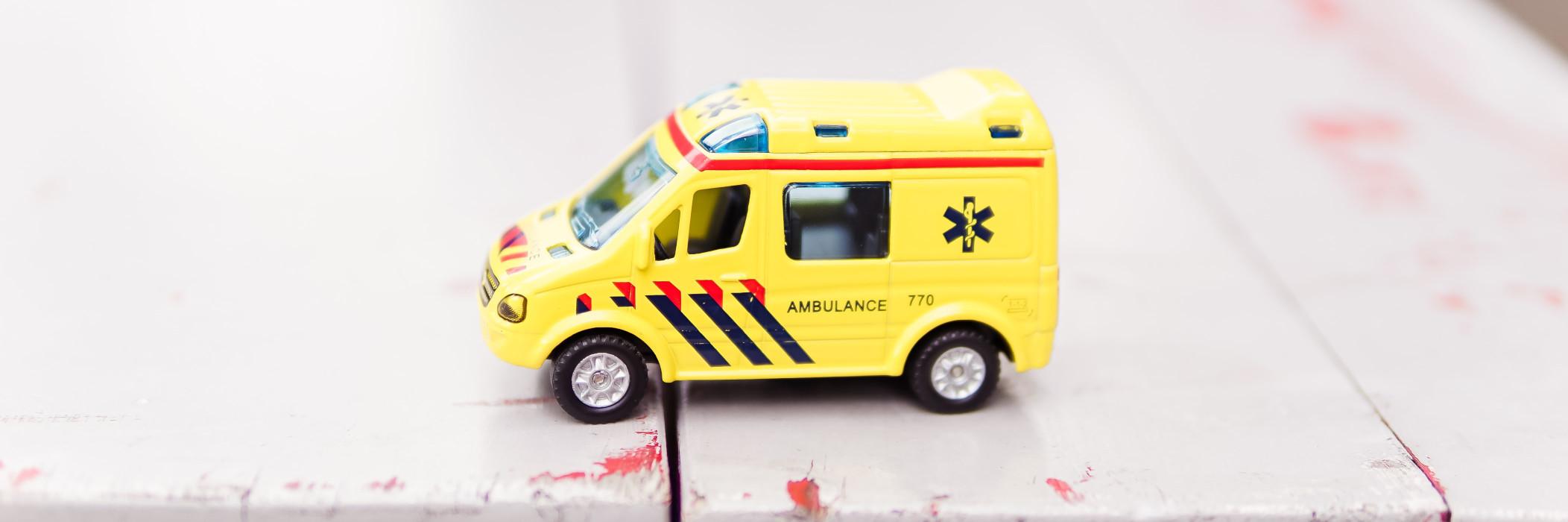 Toy Ambulance Credit Zhen Hu