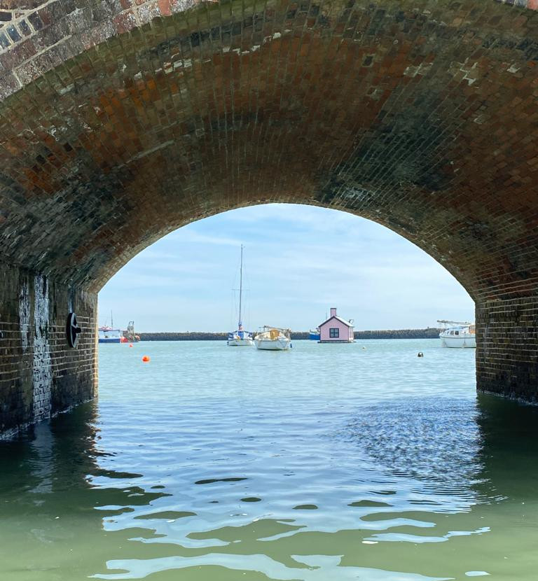 The arches view from SUP