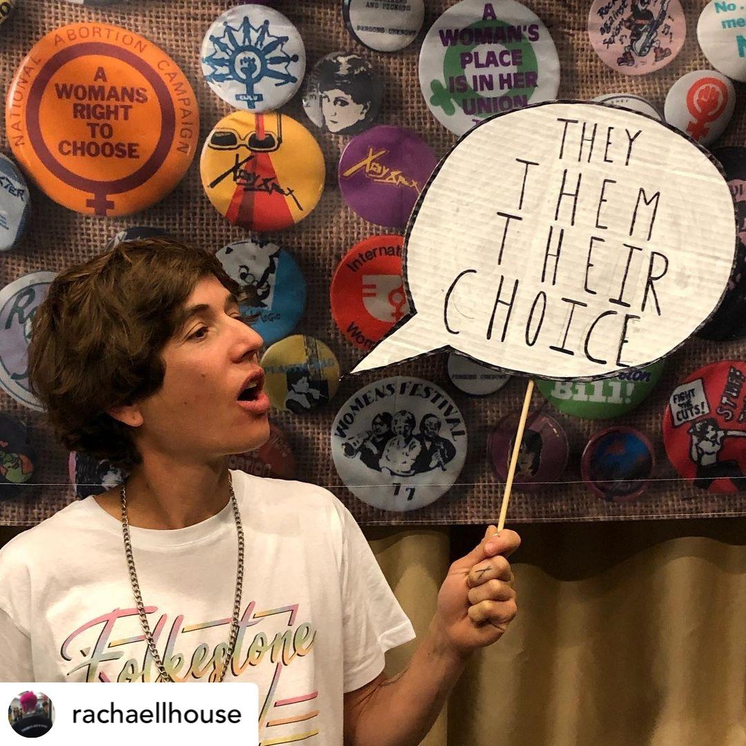 They Them Their Choice Credit Rachel House Folkestone Queer Community Workshop