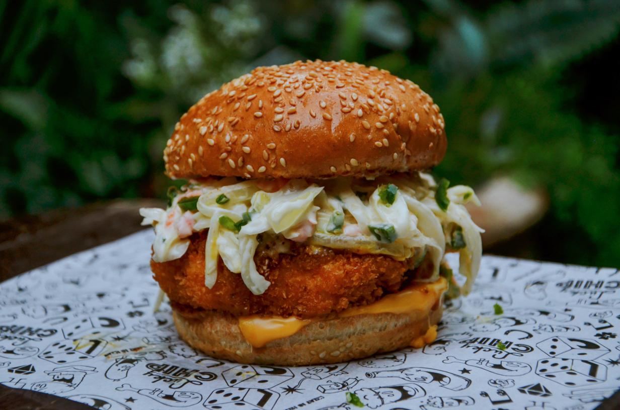 Chicken Burger Lucky Chip