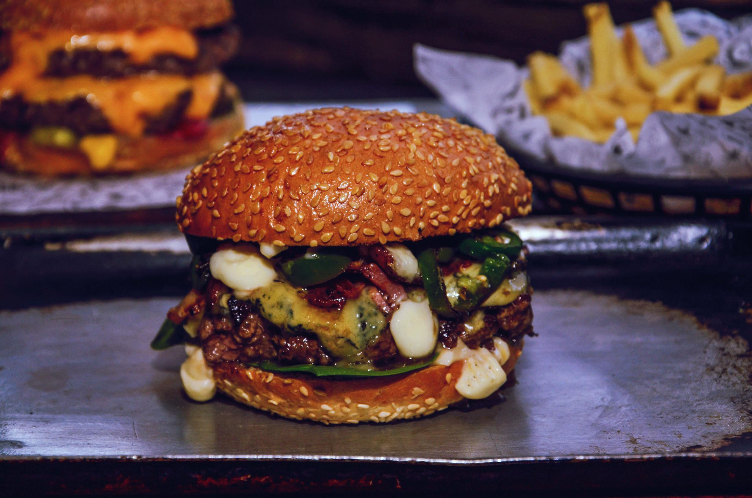 Burger Lucky Chip